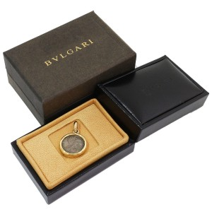 Bvlgari Ancient 18K Yellow Gold Pendant