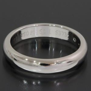Cartier Simple Platinum Wedding Ring Size 5