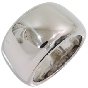 Cartier Nouvelle 18K White Gold Ring Size 7
