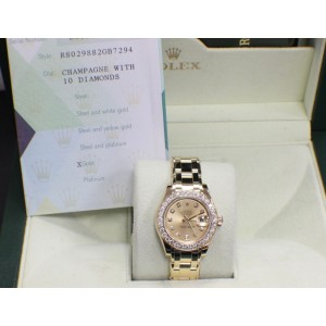 Rolex Pearlmaster 80298 29mm Womens Watch