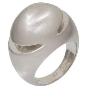 Bulgari Bvlgari 18K White Gold Ring Size 4.25