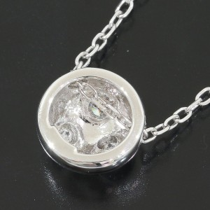 Mikimoto 18K White Gold Diamond Pendant