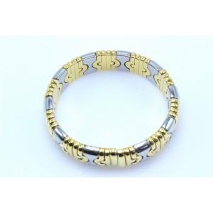 Bulgari Parentesi 18K Yellow and White Gold Bracelet