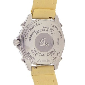 Jacob & Co. Five Time Zone JCM45 40mm Mens Watch
