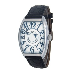 Franck Muller Casablanca Cintree Curvex Double Mystery 6850 DM 35mm Mens Watch