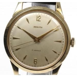 Zenith Vintage 34mm Mens Watch