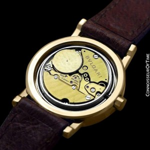 BVLGARI (Bulgari) Ladies 26mm, 18K Gold - $11,700 with Warranty