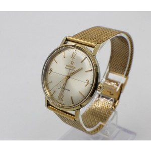 Omega Seamaster Automatic 18K Yellow Gold & Stainless Steel