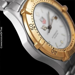 Tag Heuer Proofessional 2000 Mens Diver Watch, 964.013F - SS & 18K Gold Plated