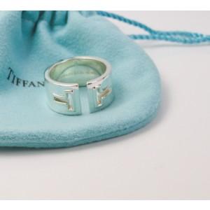 84ed1191e Tiffany & Co. NEW Tiffany T Cutout Ring Silver Size 6- Retired ...