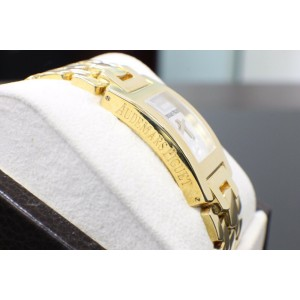 Audemars Piguet Promisse 18K Yellow Gold Ladies Blue Sapphire Cabochon Crown
