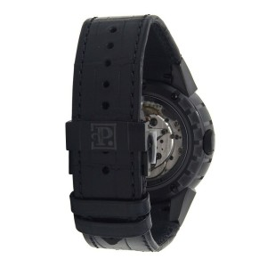 Perrelet Turbine Snake Black DLC Stainless Steel Automatic Men's Watch A8001/1
