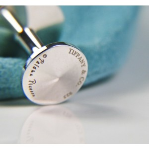 Tiffany & Co. Picasso Pyramid Tiered Round Cuff Links MINT - Retired