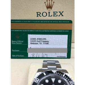 Rolex Submariner 116610 Black Ceramic  Stainless Steel