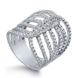 Cocktail Ring with 2.00ct. of Total Diamond Weight