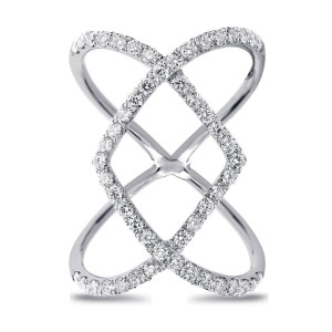 Fashion Ring with 1.07ct. of Total Diamond Weight