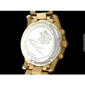 Michael Kors Ladies Gold Tone Watch - OWNED & WORN BY OLIVIA NEWTON-JOHN