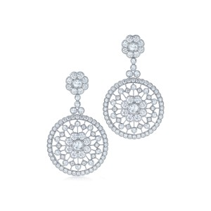 Kwiat 18k White Gold Earrings From The Vintage Collection