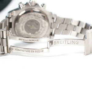 Breitling - Avenger Seawolf Watch - Silver Stainless Steel - White Face