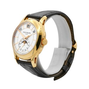 Men's Patek Philippe Complications, 40, Rose Gold, Opaline white dial 5205R-001