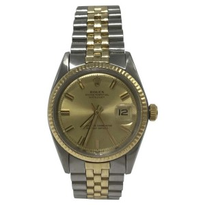 Vintage Rolex Datejust 1601 Vintage 36mm Mens Watch