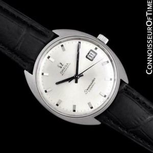 1970 OMEGA SEAMASTER COSMIC Vintage Mens Cal. 565 SS Steel - Mint with Warrranty