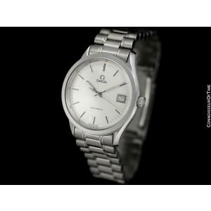 OMEGA SEAMASTER Maison Fondee (Classic Heritage) Mens SS Steel Watch - Mint
