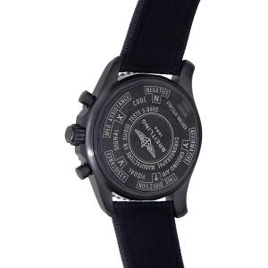 Breitling Chronospace Military Stainless Steel Digital Black Men's Watch M78367