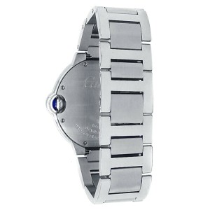 Cartier Ballon Bleu Stainless Steel Automatic Silver Men's Watch W6920046