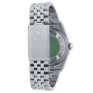 Rolex Datejust Stainless Steel Jubilee Auto Silver Jubilee Men's Watch 16220