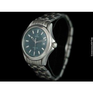 Omega Seamaster 120M Professional Divers Mens Watch - Stainless Steel