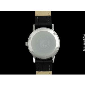 1975 OMEGA GENEVE Vintage Mens Brown Vignette Dial SS Steel - Mint with Warranty