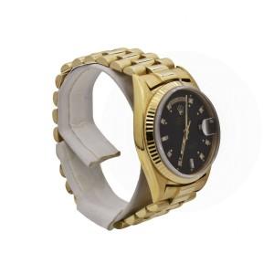Men's Rolex Day-Date, 36mm, Presidential, Black Diamond Dial, 1803