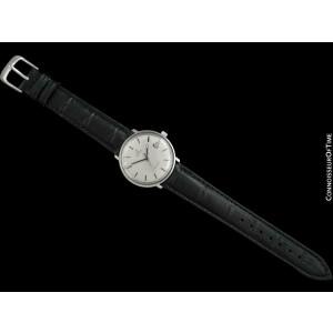 1970 OMEGA DE VILLE Vintage Mens Cal. 565 SS Steel Watch - Mint with Warranty