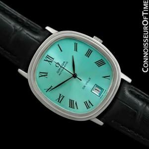 1974 OMEGA DE VILLE Vintage Mens Automatic SS Steel Watch - Mint with Warranty