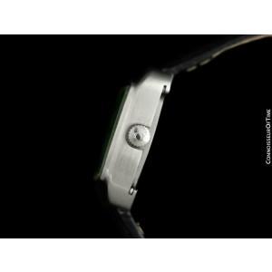 1970's OMEGA De Ville MensRetro SS Tiffany Blue Dial TV Watch - Mint - Warranty