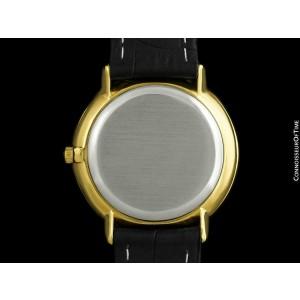 1969 OMEGA De Ville Vintage Mens Full Size 18K Gold Plated - Mint with Warranty