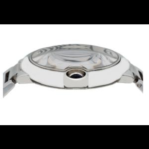 CARTIER BALLON BLEU 42MM WATCH W69012Z4 WHITE DIAL WITH STAINLESS STEEL BRACELET