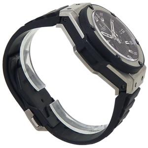 Hublot King Power Foudroyante Zirconium Rubber Black Men's Watch 715.ZX.1127.RX