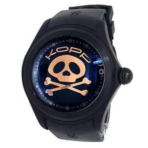 Corum Big Bubble Magical Booba Titanium Rubber Auto 3D Skull Watch L390/03382