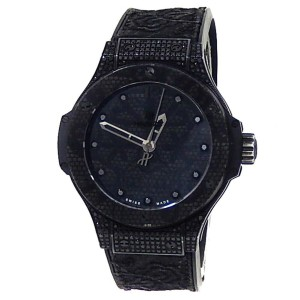 Hublot Big Bang Broderie Stainless Steel Auto Black Watch