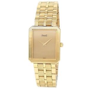 Piaget Protocole 18k Yellow Gold Quartz Champagne Ladies Watch