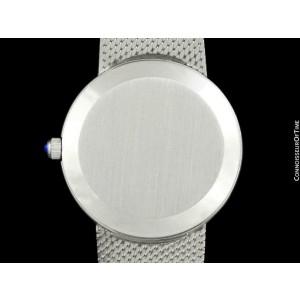 1978 OMEGA DE VILLE Vintage Mens SS Steel Bracelet Watch - Mint with Warranty