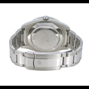 ROLEX DATEJUST II WATCH 116300 STAINLESS STEEL WHITE MOP DIAL DIAMOND BEZEL