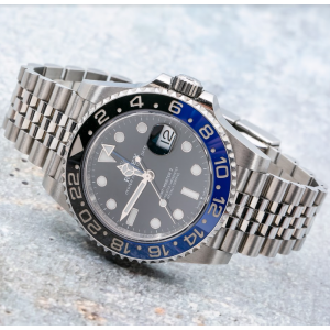 Rolex GMT-Master II Men's Black Watch - 126710 BLNR