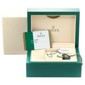 Rolex Datejust Steel Rose Gold Olive Green Diamond Ladies Watch 279161