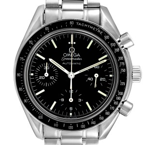 Omega Speedmaster Reduced Chronograph Steel Mens Watch 3539.50.00 Card