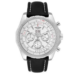 Breitling Bentley 6.75 Speed Chronograph Silver Dial Mens Watch A44364