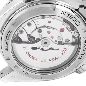 Omega Seamaster Planet Ocean GMT Watch 232.30.44.22.01.001 Card