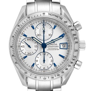 Omega Speedmaster Silver Dial Chronograph Mens Watch 3211.30.00 Card